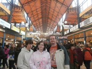 Inside Budapest's famous Great Market Hall